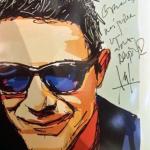 Alejandro Sanz con gafas Xavier García