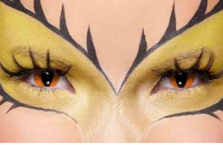Image result for lentes de contacto para halloween