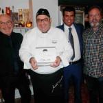 """Andrea Tumbarello, un chef """"Dilem"""" con varillas personalizadas"""