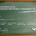 Programa de formación intensiva online de Conóptica