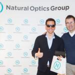 David Meca visita Natural Optics Group