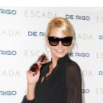Lena Gercke, la top model alemana colabora con Escada eyewear y De Rigo