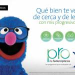 COCO, el popular personaje de Barrio Sésamo, ficha por Federópticos