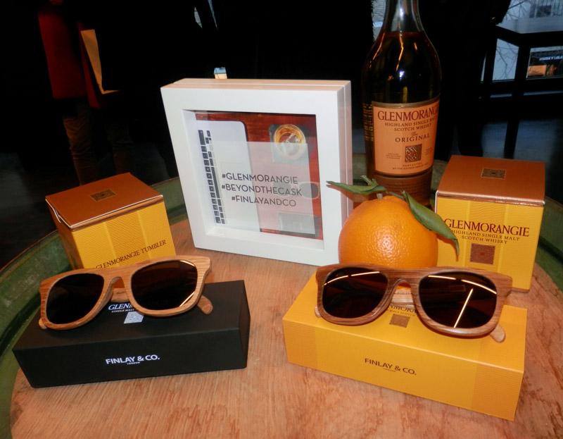 0a2e5ee531 Glenmorangie y Finlay & Co, gafas fabricadas con barricas de whisky