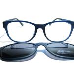 Las gafas Lotus Ultem con clip-on