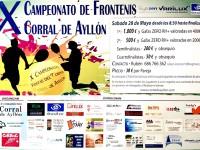 X Campeonato de Frontenis de Corral de Ayllón
