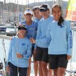 Costa patrocina un barco J80 en la Copa del Rey de Vela
