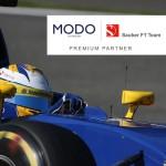 Modo, Premium Partner del equipo de F1 Sauber
