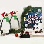 Farmaoptics estrena escaparate de Navidad
