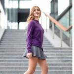 Las bloggers más it lucen el jersey TV31100 de Benetton