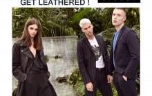 Cuero negro Sisley: Get leathered!