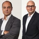Ernesto Díaz, Vicepresidente Essilor Europa, y Pedro Cascales, director general de Essilor España