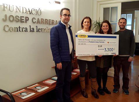 b60e5ae9191b8 Los trabajadores de Óptica Universitaria donan 12.700 euros