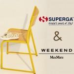Superga y Weekend Max Mara juntos por segunda vez