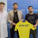 Oftalvist revisa la vista a los jugadores del Villarreal C.F.