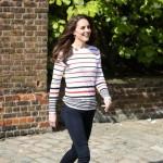Kate Middleton elige zapatillas Superga