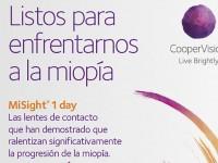 Un estudio muestra un tratamiento pionero con lentes de contacto efectivo en la Progresión de la miopía en niños en un 59%