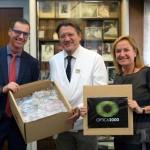 Óptica2000 dona 300 monturas a la Fundación Barraquer