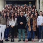 Visita formativa de las universidades de Zaragoza y Valencia a Prats