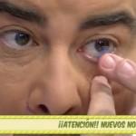 Queja de ANEOP a Telecinco por la mala manipulación de lentillas en directo