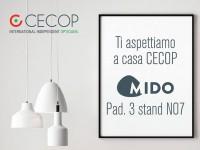 CECOP despliega su equipo internacional para MIDO 2018