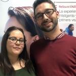 Los 'GeNios, Audioprotesistas del Futuro' Sergio Sánchez y Sandra Blázquez viajaron a Estocolmo de la mano de ReSound