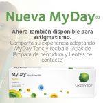 Comparte tu experiencia adaptando MyDay Toric y recibe el 'Atlas de lámpara de hendidura y Lentes de contacto' de Javier Gonzalez-Cavada