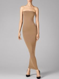 Wolford - Fatal Dress in toasted almond - 140€