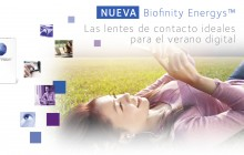 Biofinity Energys™ de CooperVision, lentes de contacto ideales para el verano digital