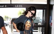 Kendall Jenner luce el nuevo bolso de Longchamp