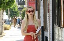 Emma Roberts luce el bolso Mademoiselle de Longchamp