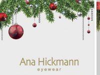 Ana Hickmann pone estilo a los escaparates de Navidad