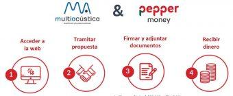 Alianza estratégica de Multiacústica con Pepper Money