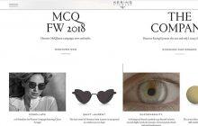 "Kering Eyewear lanza su nueva web ""keringeyewear.com"""