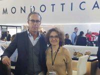 Anna Tarragó, Country Manager de Mondottica para España y Portugal y Matteo Mohwinckel, Director Sur Europa, Medio Oriente y África